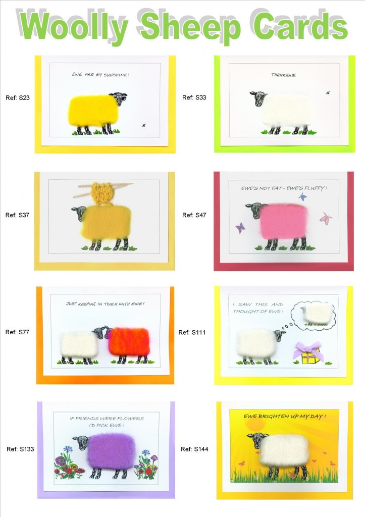 Woolly Sheep Cards 1