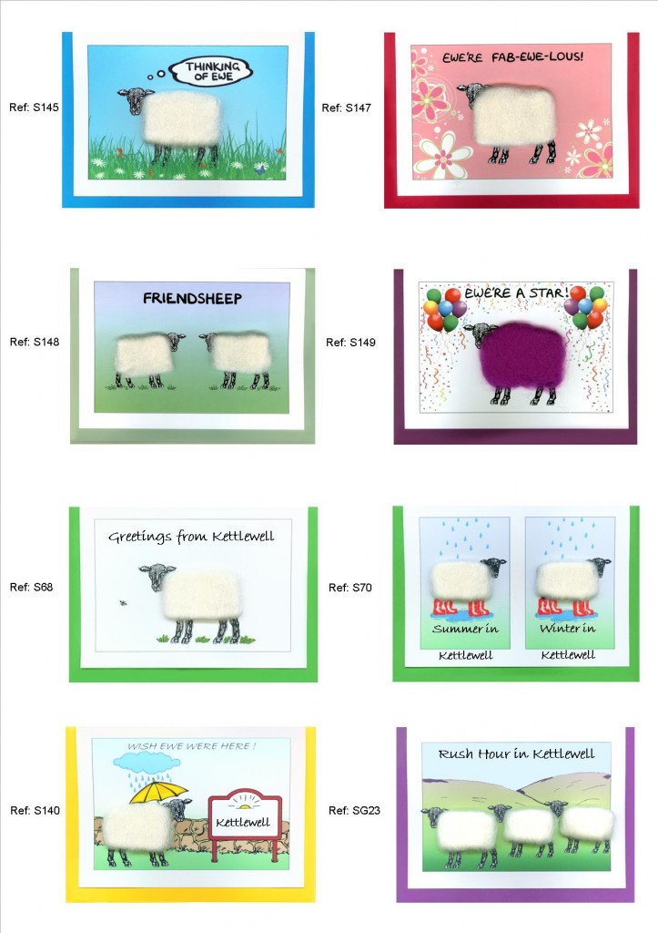 Woolly Sheep Cards 2