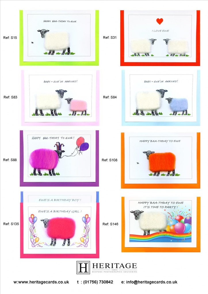 Woolly Sheep Cards 3