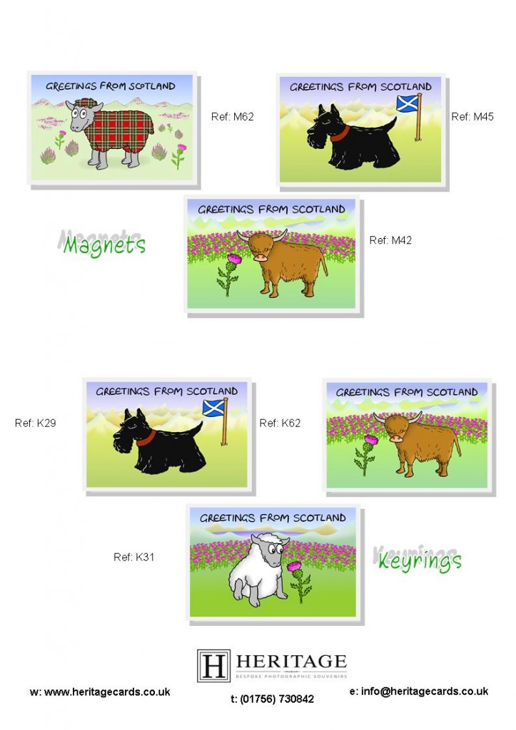 Scottish Woolly Sheep Products 2
