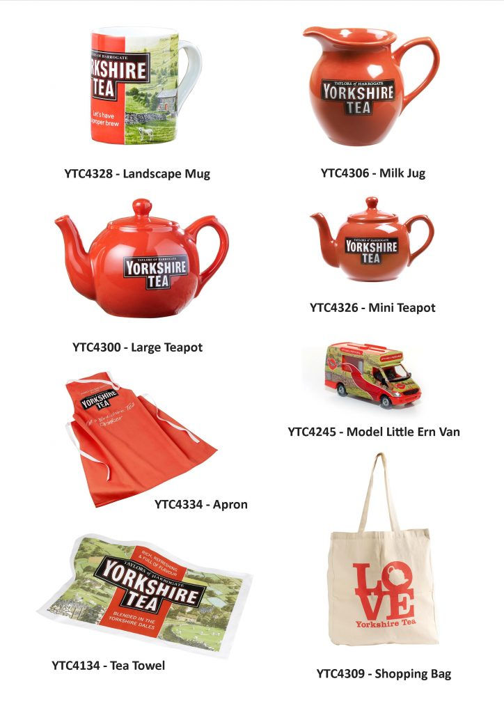Yorkshire Tea Collectables